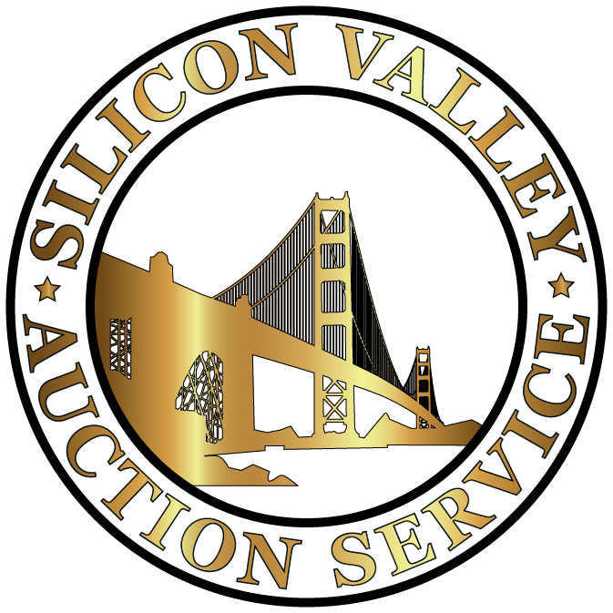 Silicon Valley Auction Service Official Website Logo